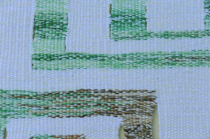 Detail, Tapestry - Tree inspired.