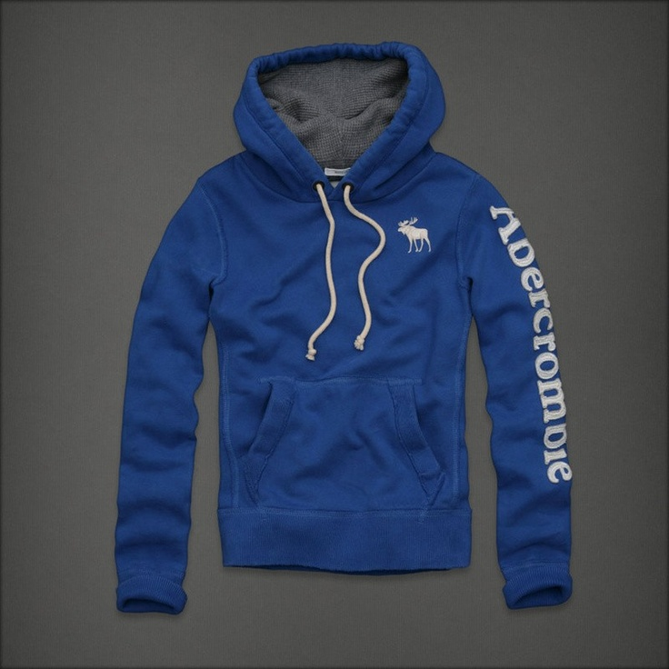 Abercrombie Fitch uomini blu hoodies afmhod067.€42.96