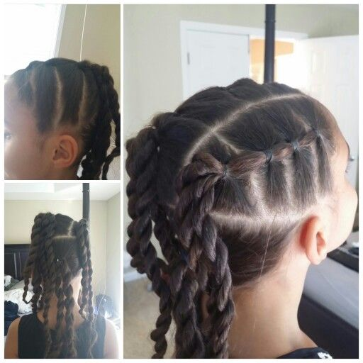 Peachy 1000 Ideas About Mixed Girl Hairstyles On Pinterest Mixed Girls Short Hairstyles For Black Women Fulllsitofus