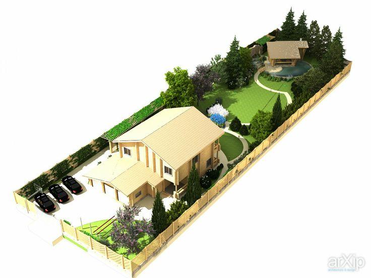 ЛД ПОДМОСКОВЬЕ111222: ландшафтный дизайн, современный стиль, приусадебный участок, владение, дачный участок, 0,2 - 0,5 га #landscapedesign #modernstyle #farmland #possession #dacha #0 #2_0 #5ha