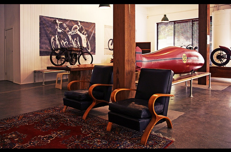 My future office, it will have to be a repro of the Burt Monroe Indian Scout of course.