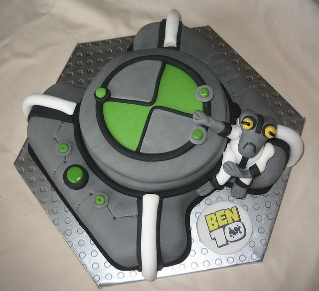 ben 10 cake by karenlindsay24, via Flickr- another of Ike's favorites