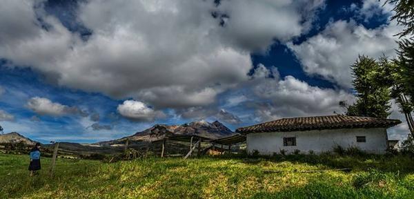Montaña de fuego de los Andes, Volcán Nevado Cumbal Nariño