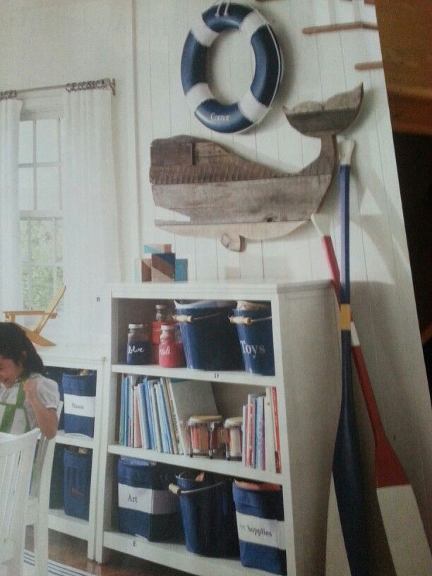 nautical beach themed room