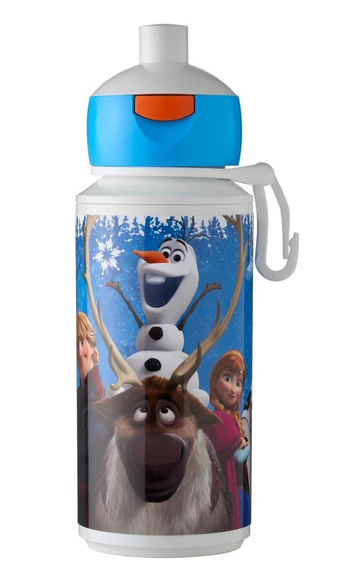 Drinkfles Campus pop up 275 ml Frozen De leukste personages uit de Frozen film op n beker Pop up drinkfles Campus 275 ml met Frozen opdruk