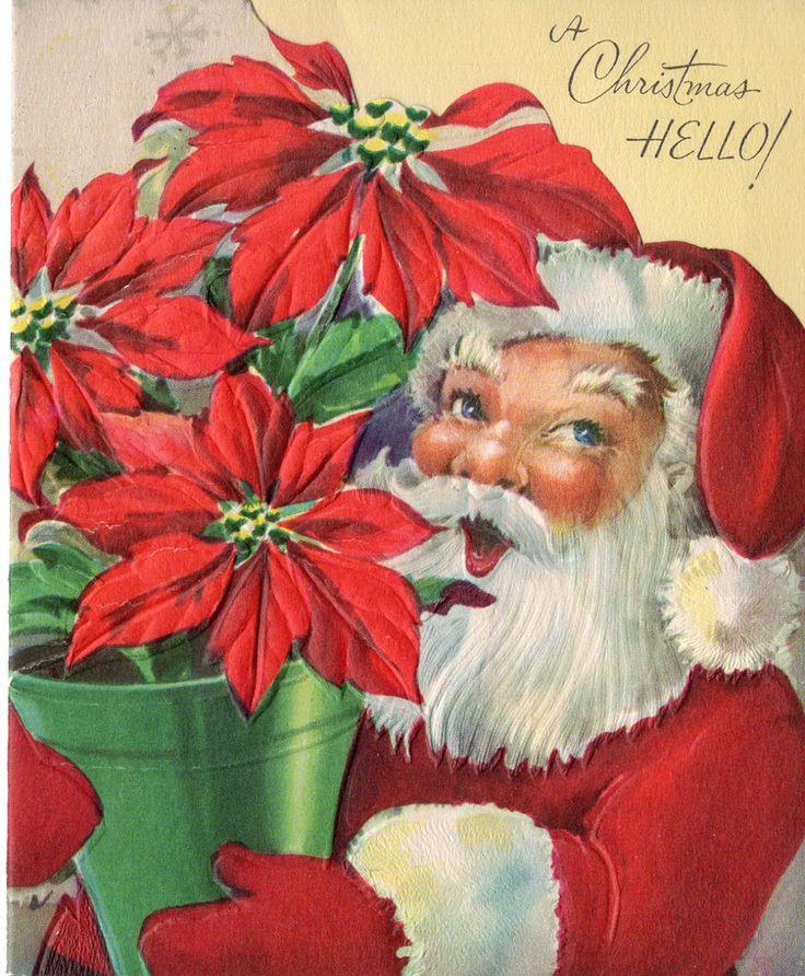 Best santa paintings ideas on pinterest christmas
