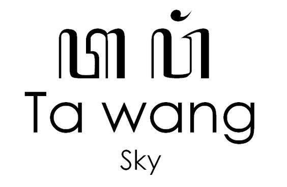 Beautiful Aksara Hanacaraka | How To Write Tawang (Sky) in Javanese Hanacaraka.:
