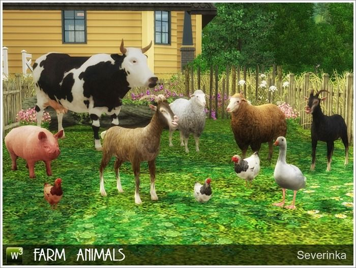 Lana Cc Finds Animals Farm Animals Sims 3 She comes in.package, sims3pack and.sim files for you guys. lana cc finds animals farm animals