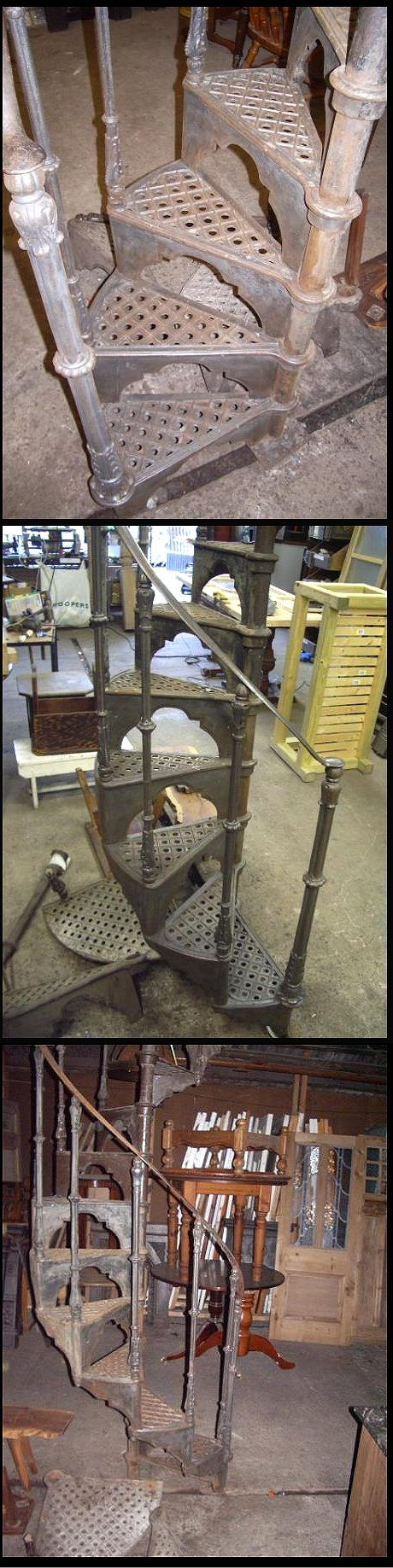 Iron Spiral Staircase For Sale - Yakaz For sale