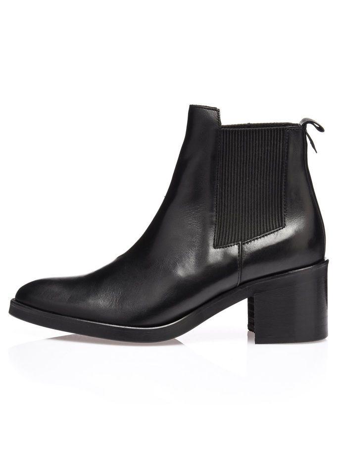CHELSEA BOOTS, Black, large