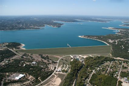 Canyon Lake and the Guadalupe River