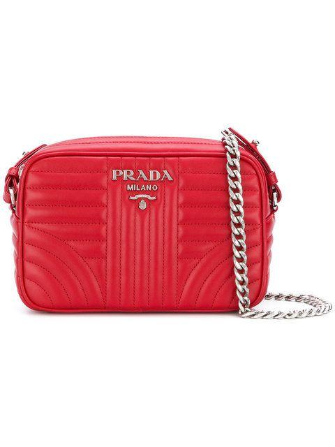 PRADA bevelled camera bag.  prada  bags  shoulder bags  leather ... fac408533f355