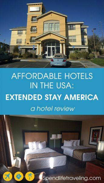 Are you looking for an affordable hotel in the USA? Traveling in the USA can be expensive but there are some affordable hotel chains that can make your stay in the US cheaper. Extended Stay America is a budget hotel chain focusing on longer stays. Check out my review of this hotel chain to decide if these hotels are a good option for you. #hotelreview #travelUSA #extendedstayamerica #besthotel #budgethotel #traveltips