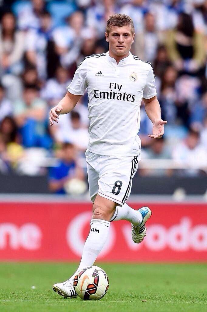 Toni Kroos. The German Midfield Man of Mastery