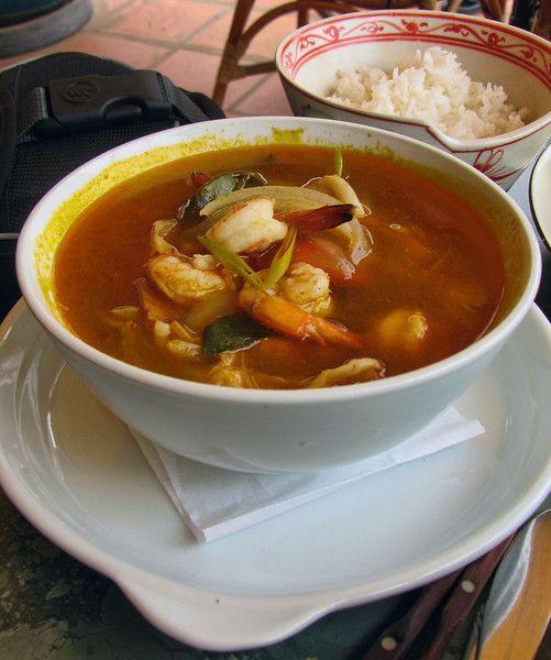 Tom Yum soup, Cambodia