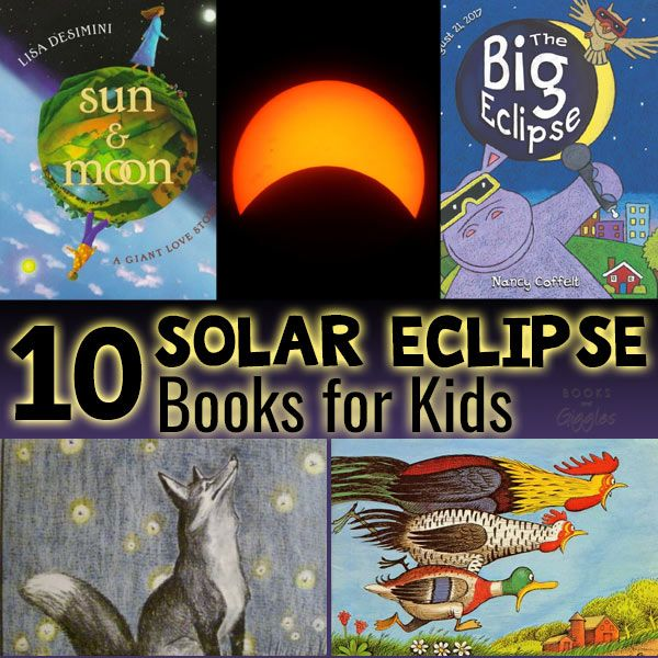 Solar eclipse books for kids for a day they'll always remember. This well researched book list will help you prepare for the total solar eclipse with kids.