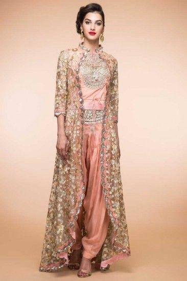 Peach Silk Patiala Suit Online - 1872  #fashionists #stylebloggers #style   #womenswear #womensfashion #womensclothing #style #shopping #onlineshopping #weddingwear #loveforanarkali  #loveforanarkalichuridarsuits #partywears #anarkalichuridarsuits  #shop #lovefordesigns #designinspirations #loveforoutfit #loveforpeach #newarrivalsdaily #womensclothings