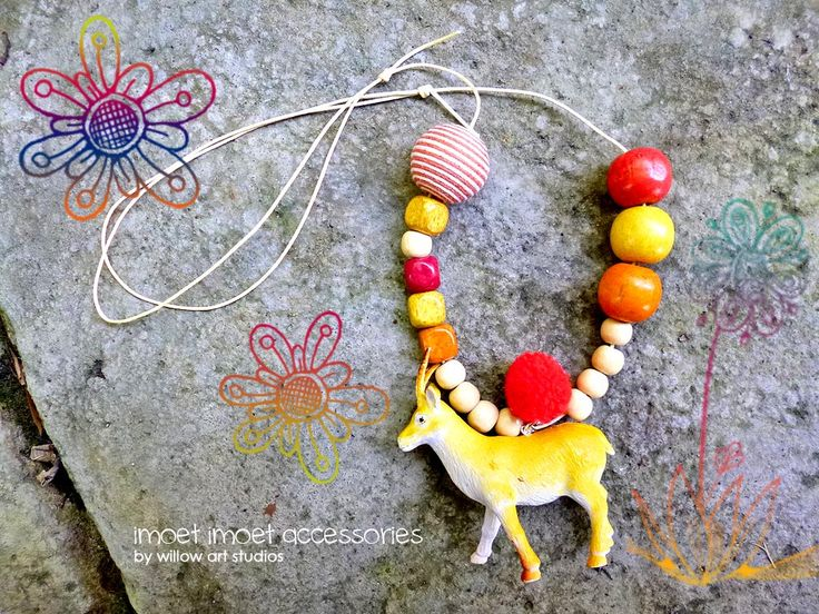 Children jewelry line. Imoet Imoet accessories by Anita Ang