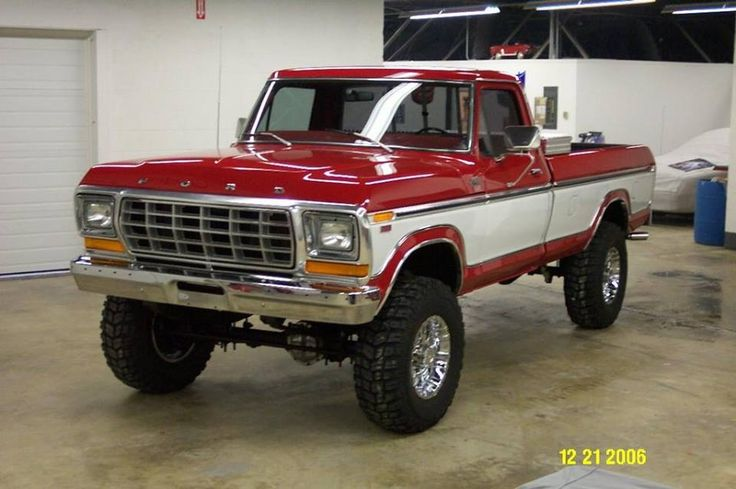 1978 F250 love the 2 tone especially these colors