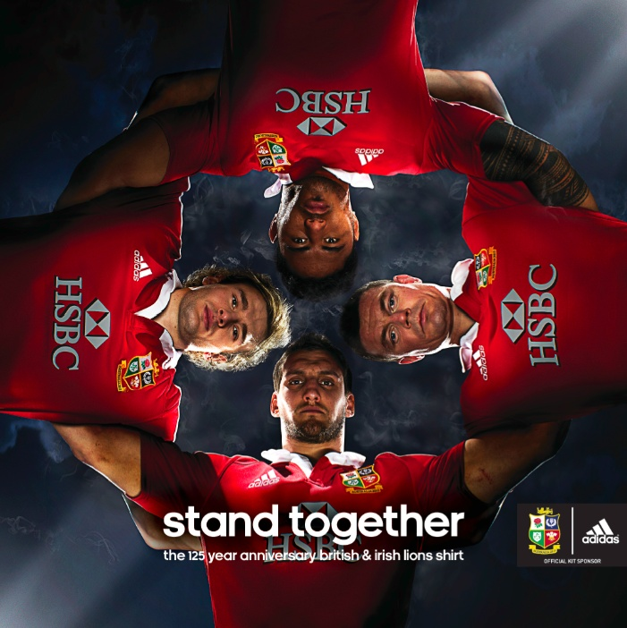 British and Irish Lions by adidas /// http://blog.kitbag.com/british-and-irish-lions-2013-tour/