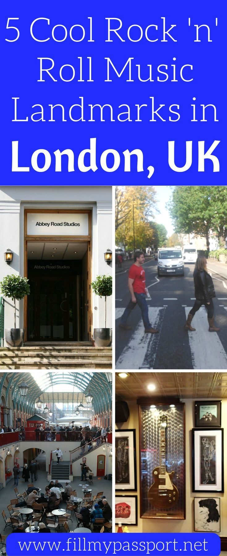 If you're planning a trip to London and you love rock and roll music, you HAVE to check out these awesome landmarks. 5 favorite rock n roll music landmarks in London so you can appreciate the legends from London. Where Freddie Mercury's house is and many other neat rock and roll landmarks.
