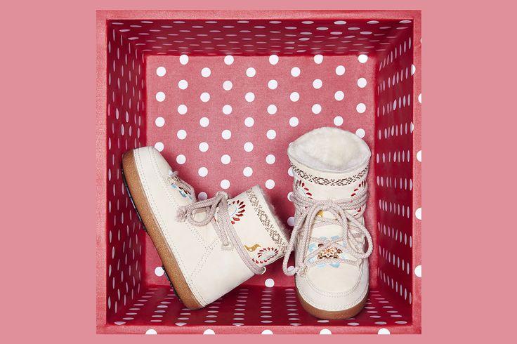IKKII Boots Folklore Cream
