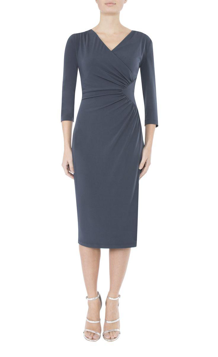 9 To 5 Style | Smoke Jersey Dress