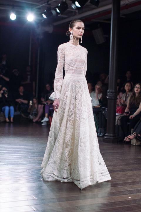 Naeem Khan Bridal Spring 2017 / Wedding Style Inspiration / LANE