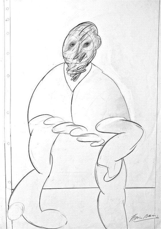 francis bacon drawings -
