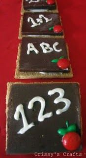 These cookies are so cute- I never would have thought of flipping the Hershey bar over for a flat surface!  Too Cute!