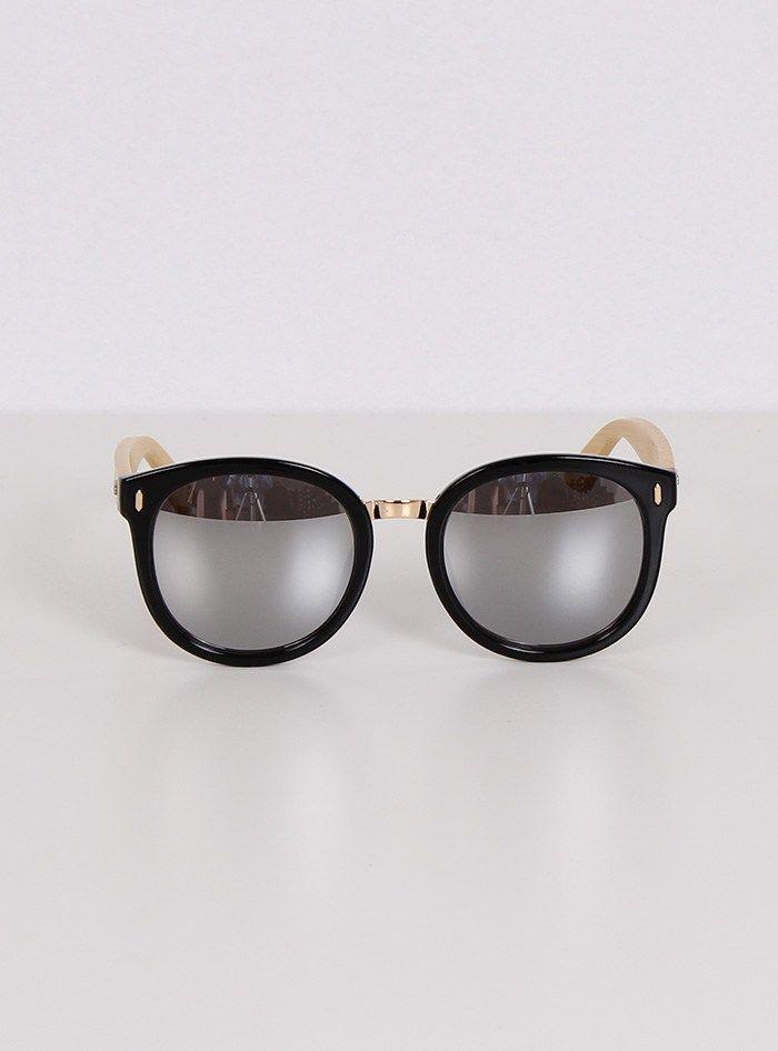 Γυαλιά Ηλίου Με Ασημί Καθρέφτες