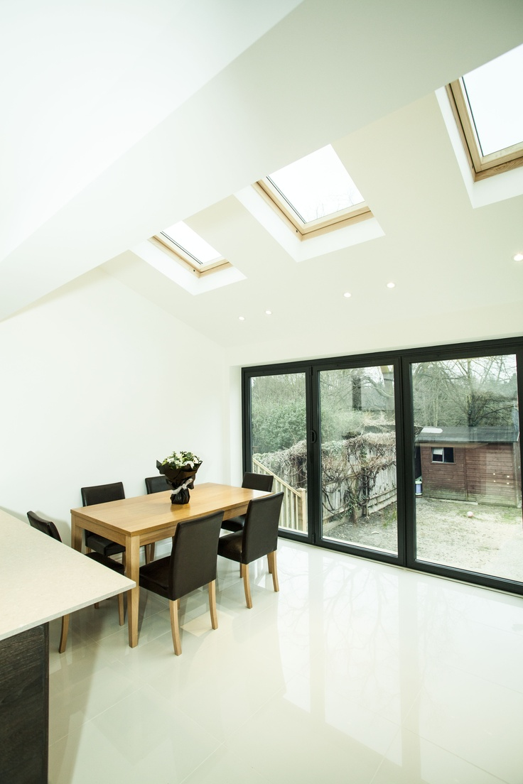 House extension and loft conversion, Lincoln Avenue, London.