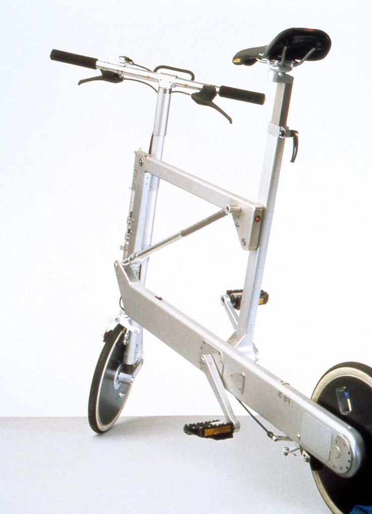 Zoombike  2000 Folding bicycle Elettromontaggi  Prize Compasso d'Oro 1998 IF Industrie Forum Design Award Hannover 2001