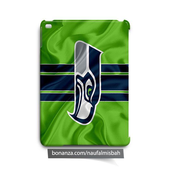 Seattle Seahawks Ruffles Silk iPad Air Mini 2 3 4 Case Cover