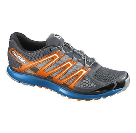 Salomon X-Scream Trail Running Shoe (Grey/Orange, 11.5D) - $109.95