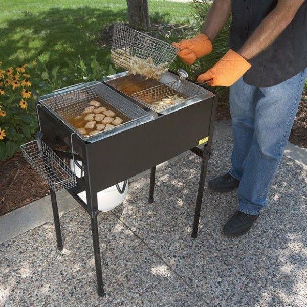 Three Basket Deep Fryer – $180