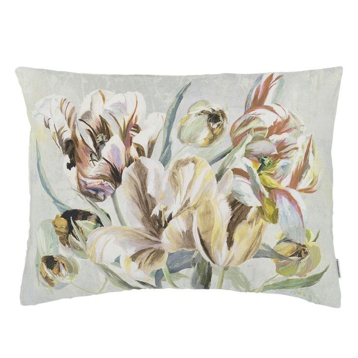 Tulipa+Stellata+Birch+Pute+60x45cm,+Designers+Guild