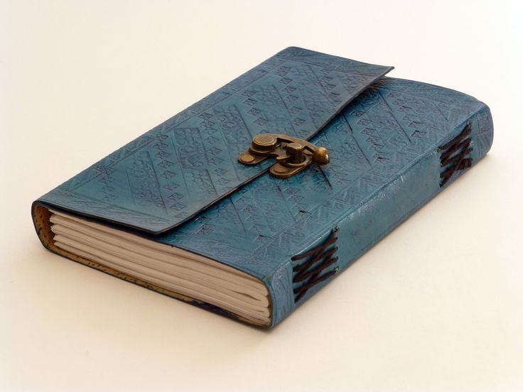C Lock Journal Medium #embossed-notebook #journal #leather-journal #leather-notebook #notebook #pirate-book #travel-journal