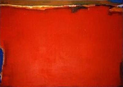 """Passion""   (Acrylic) -  90x120cm   This painting is purely abstract.  The colour red predominates in this painting. Red is rich in symbolic meaning and imbues us with energy.  The title ""Passion"" is derived from the psycho-physiological effects that the colour red has on human beings throughout the world.  Red is considered to be associated with ""passion""."