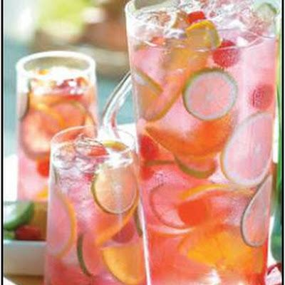 Sangria is a traditional Spanish drink that combines wine and fresh fruit. This Mexican-style Raspberry Tequila Sangria has a higher alcohol content than most sangrias (great for pairing with spicy foods) and is as much a margarita as it is a sangria.