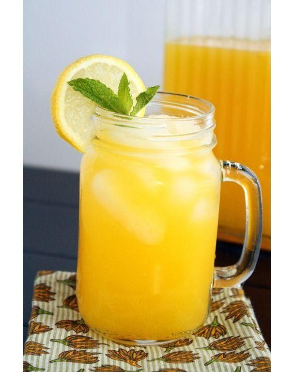 Limonade à la mangue idée recette pinterest