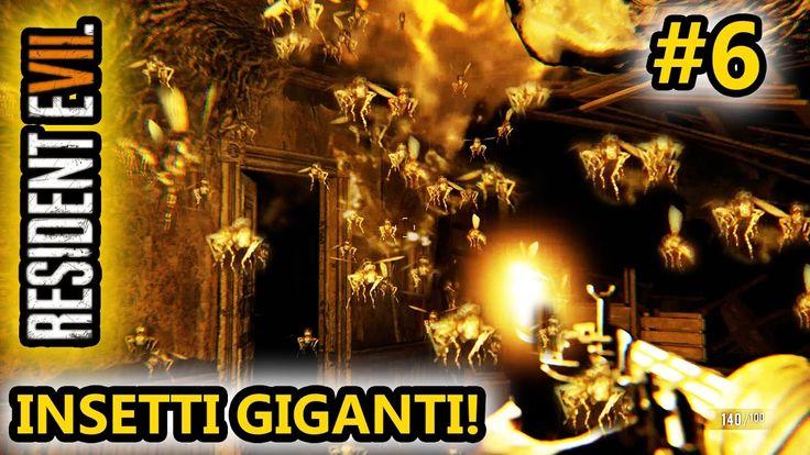 Resident Evil 7 - INSETTI GIGANTI! - Giocato su Android! - (Salvo Pimpo's)