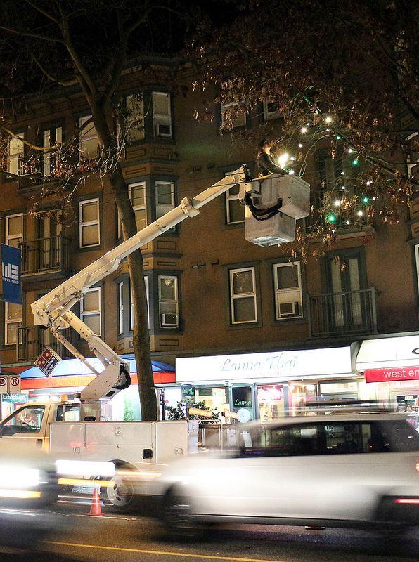 street lighting decoration