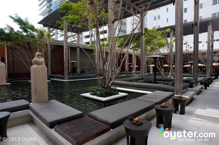 Courtyard at The Setai Miami Beach