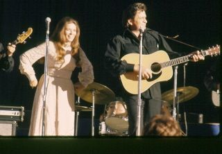 Johnny Cash and June Carter - saw them at Ponderosa Park in Ohio