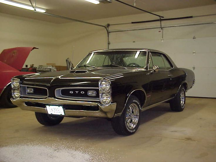 66 GTO - Truly awesome car...and I mean 'awesome' in the way we used the word in the 1960s...