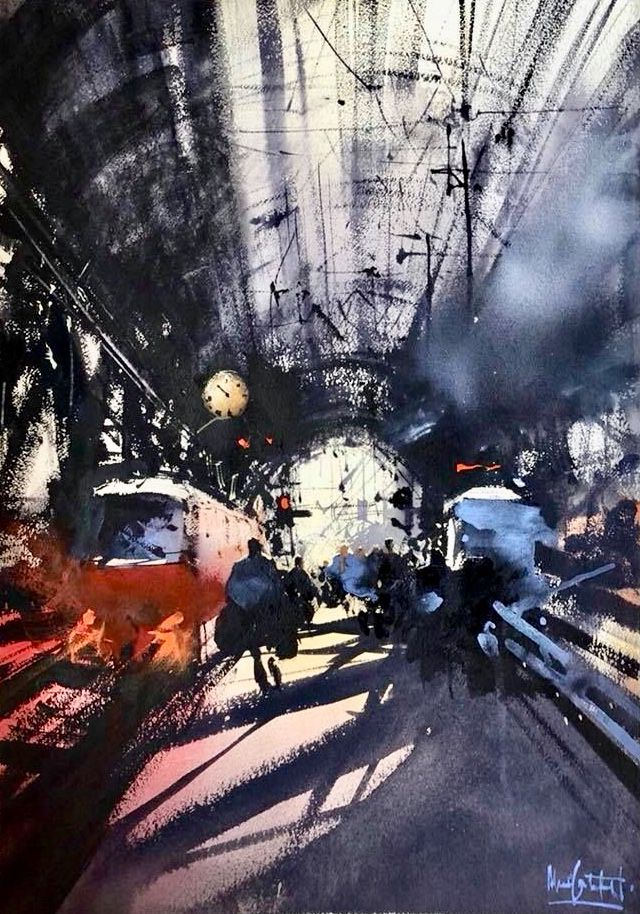 Urban Landscape Art Drawings