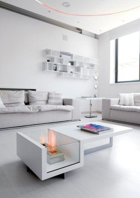 chimeneas decorativas u muebles con carcter chimeneas bioetanol lovteres