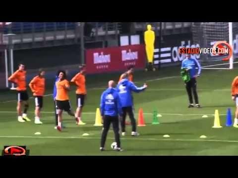 Cristiano Ronaldo vs. Gareth Bale Speed Race -