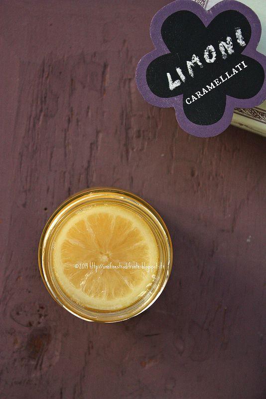 Una finestra di fronte: Limoni caramellati